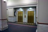 elevators in lobby poster