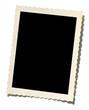 Leinwanddruck Bild - old photo border