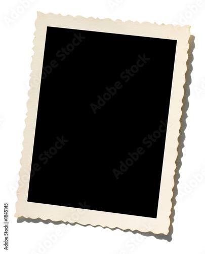 Leinwanddruck Bild old photo border