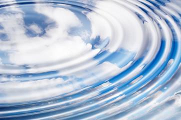cloud reflection