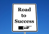 road to success poster