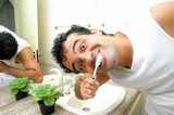 brush the teeth poster