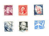 old us post stamps - collectibles poster