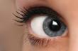 woman eye mascara