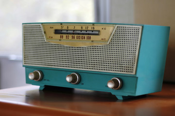 blue fifties radio