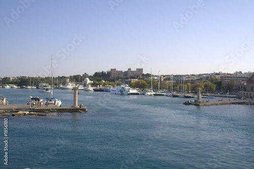 harbour of rhodos