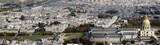 les invalides, paris, aerial view poster