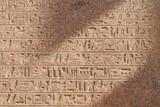 Fototapety hieroglyphen, karnak-tempel, ägypten