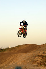 jumping motocycle