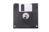 black floppy disk poster