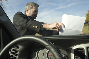 windshield flyer