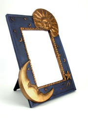 picture frame - sun and moon 03