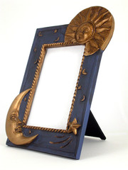 picture frame - sun and moon 02