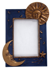 picture frame - sun and moon 01