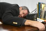 asleep on the job poster