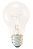 light bulb turned on poster