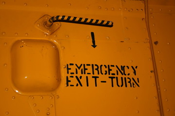 emergency exit helicopter
