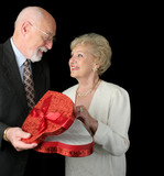 romantic valentine seniors poster