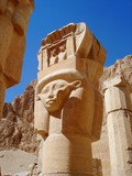 egyptian statue poster