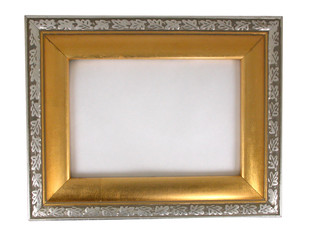 picture frame - gold and silver 02