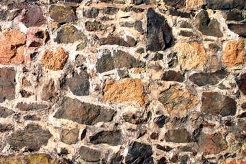 old sea wall, penzance, cornwall.