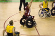 wheel chair basketball for disabled persons (men)