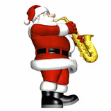 santa - smooth jazz 3 poster