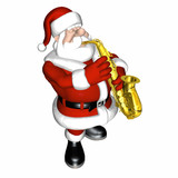 santa - smooth jazz 2 poster