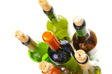 corked bottles poster