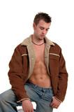 open jacket poster