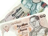 thai money - thailand banknotes poster