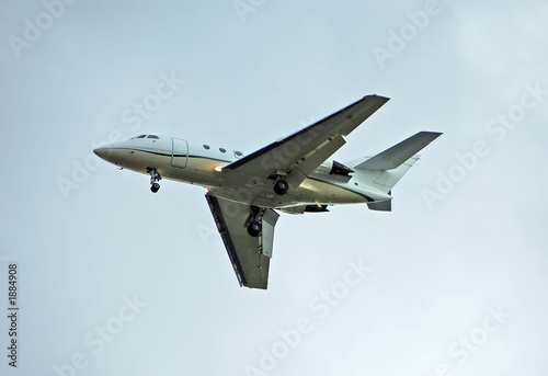 poster of corporate travel jet airplane