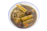 chinese herbal soup poster