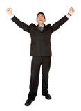 business man success poster