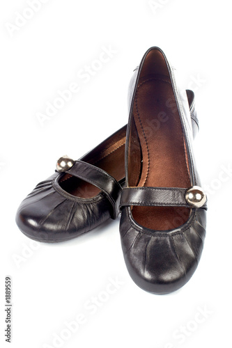 lady black shoes