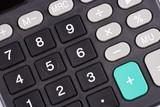 calculator keypad poster