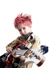 boy's guitar