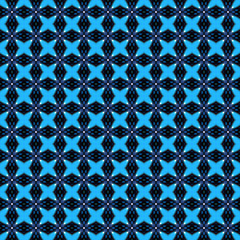abstract pattern from quatrefoil
