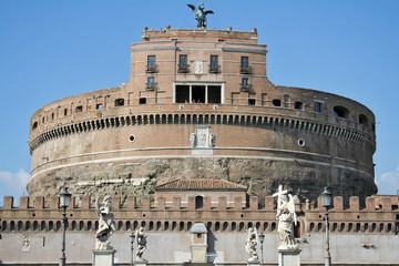 st. angel castle in rome