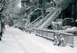 ville enneigée - 1894711