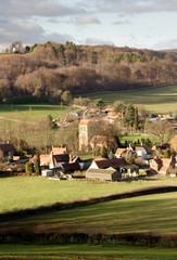 village in england