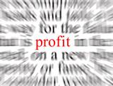 profit poster
