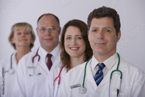 Fototapete Arzt - Krankenschwester - Gesundheitswissenschaften - Wandtattoos - Fotoposter - Aufkleber