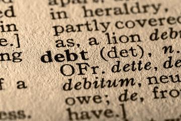 the word debt