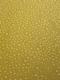 rain drops at yellow surface. poster