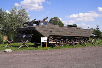 military car from ii world war