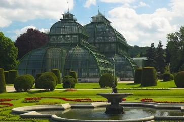 palm pavilion, schonbrunn