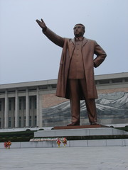 monument to the great leader