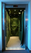 covered elevator