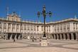palacio (palace) real in madrid